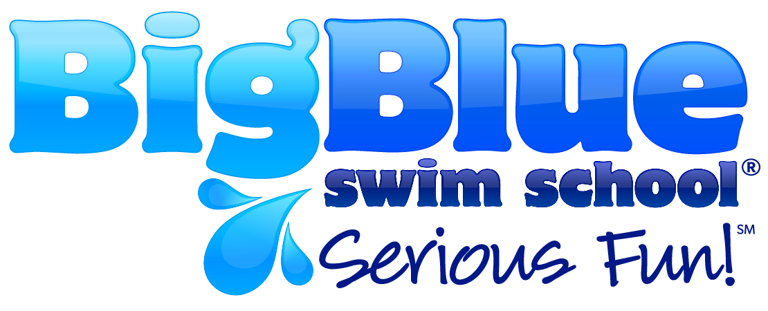 Big Blue Swim School Logo
