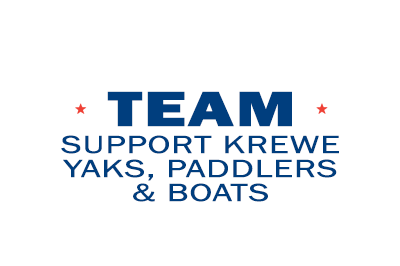 Support Krewe - Yaks, Paddlers & Boats